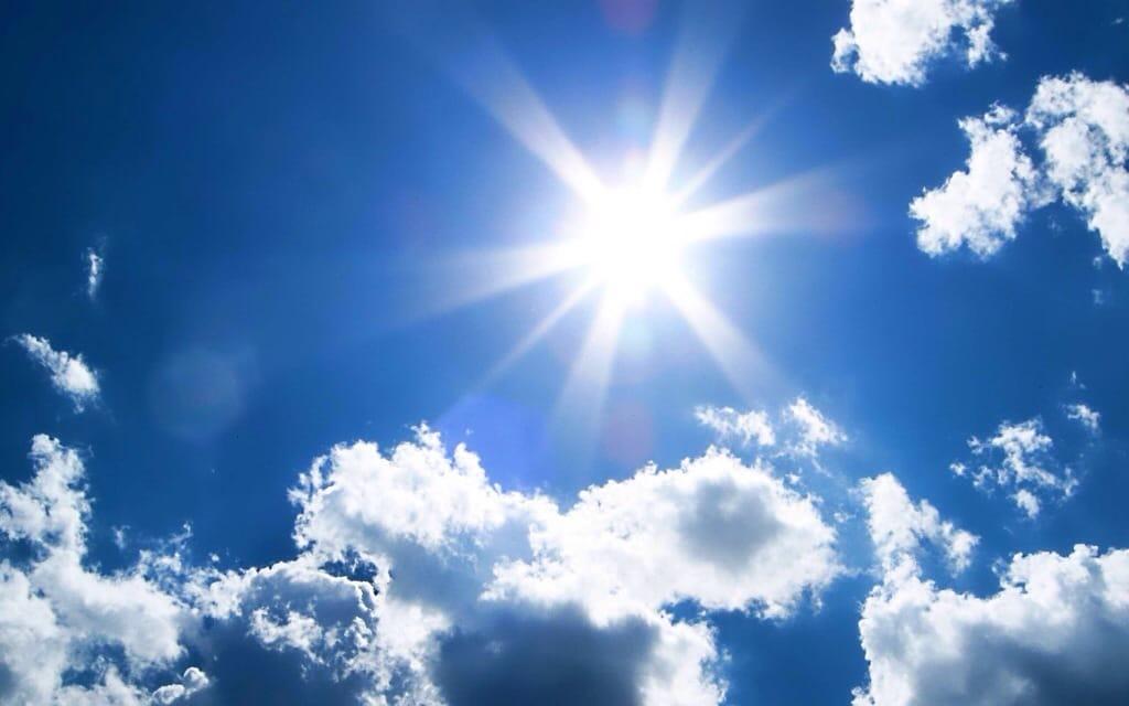 Summer sunshine? Smiles please…
