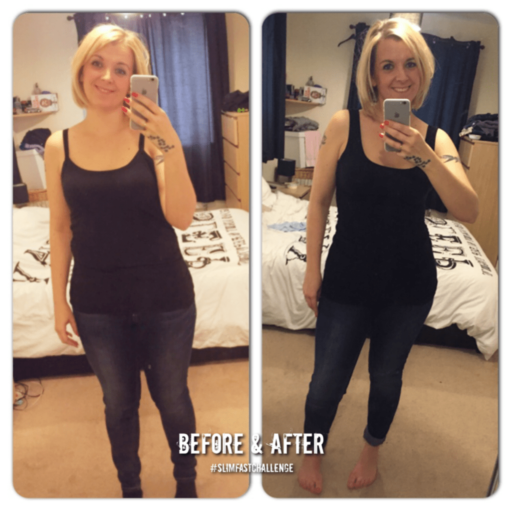 The #SlimFastChallenge: The result…