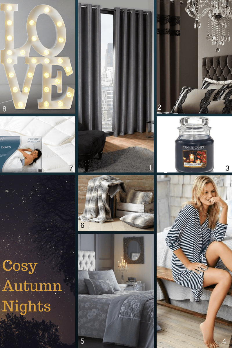 Curtains: How to set the cosy & right tone for Autumn in the bedroom