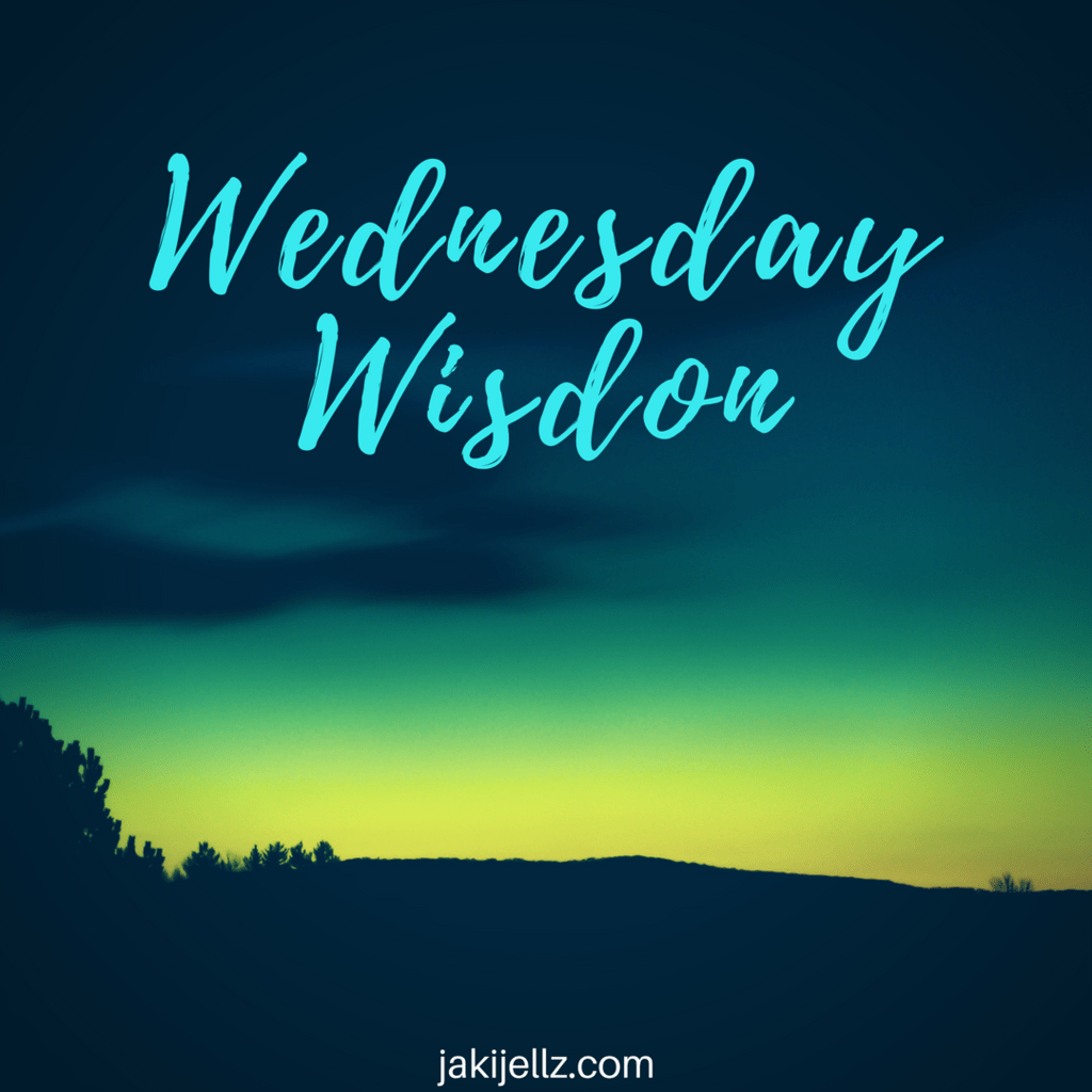 Wednesday Wisdom 3 – A Weekly Blog Quote Series