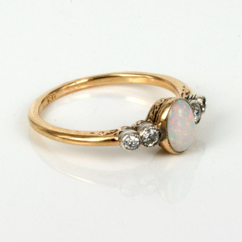 http://www.jakijellz.com opal engagement ring