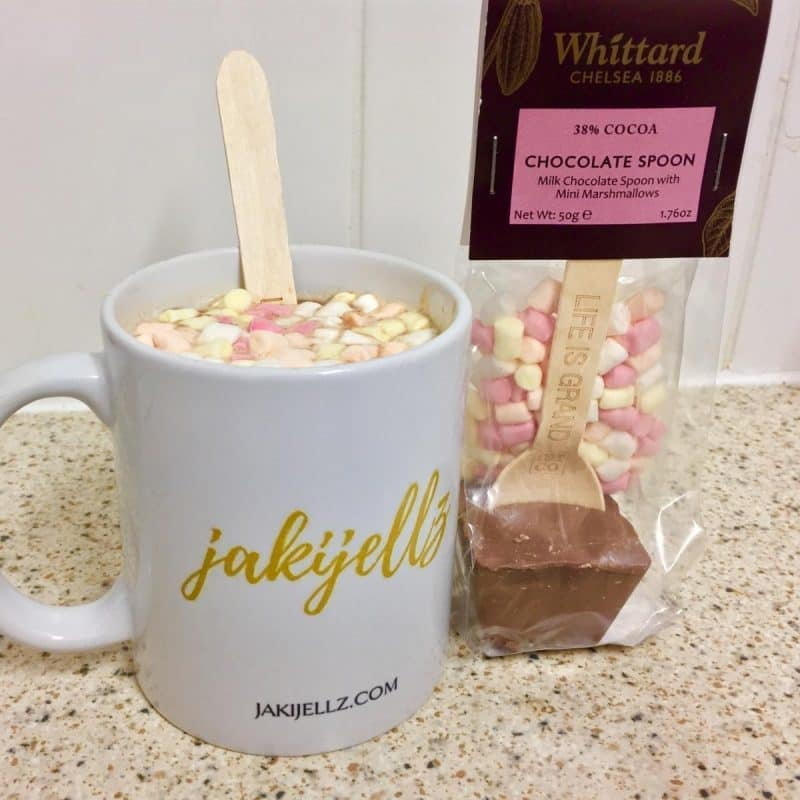 whittard's hot chocolate spoon