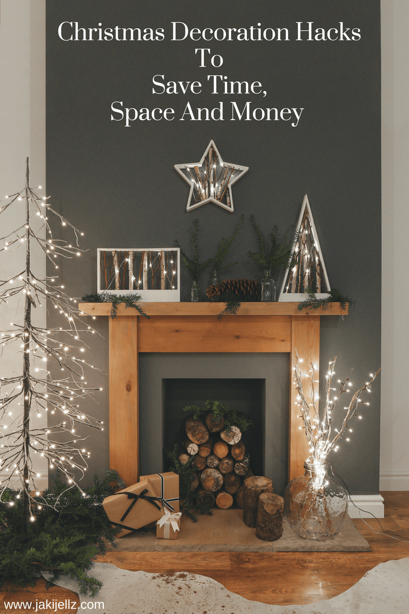 Christmas Decorations And Hacks To Save Time, Space And Money