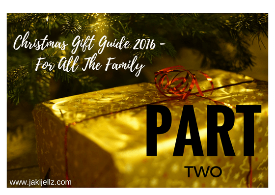 Christmas Gift Guide – For All The Family Part 2