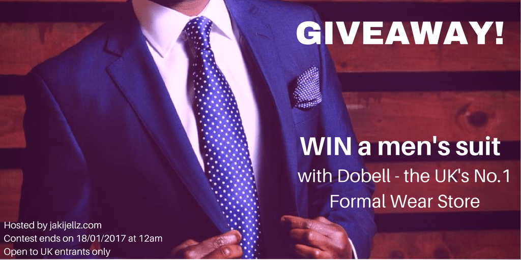 Win a men's formal wear suit with Dobell