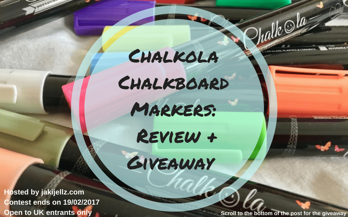 Chalkola Chalkboard Markers: Review + Giveaway