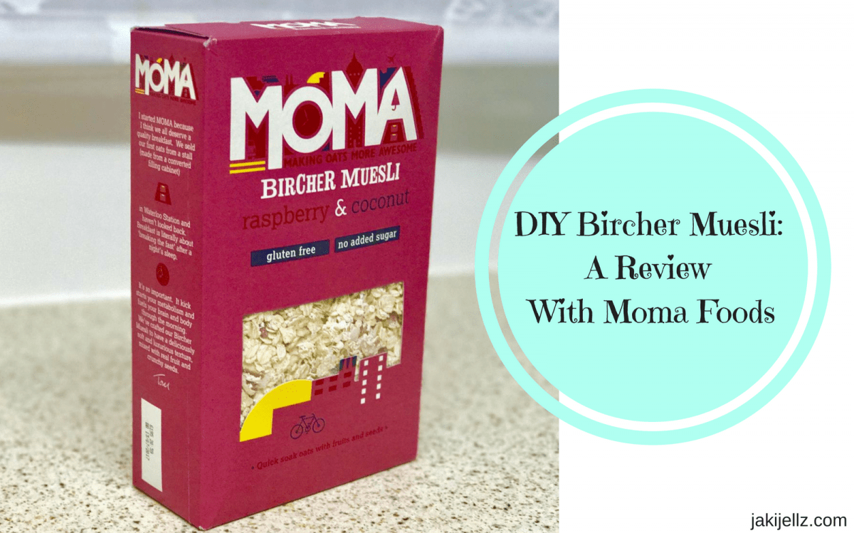 DIY Bircher Muesli – A Review With Moma Foods