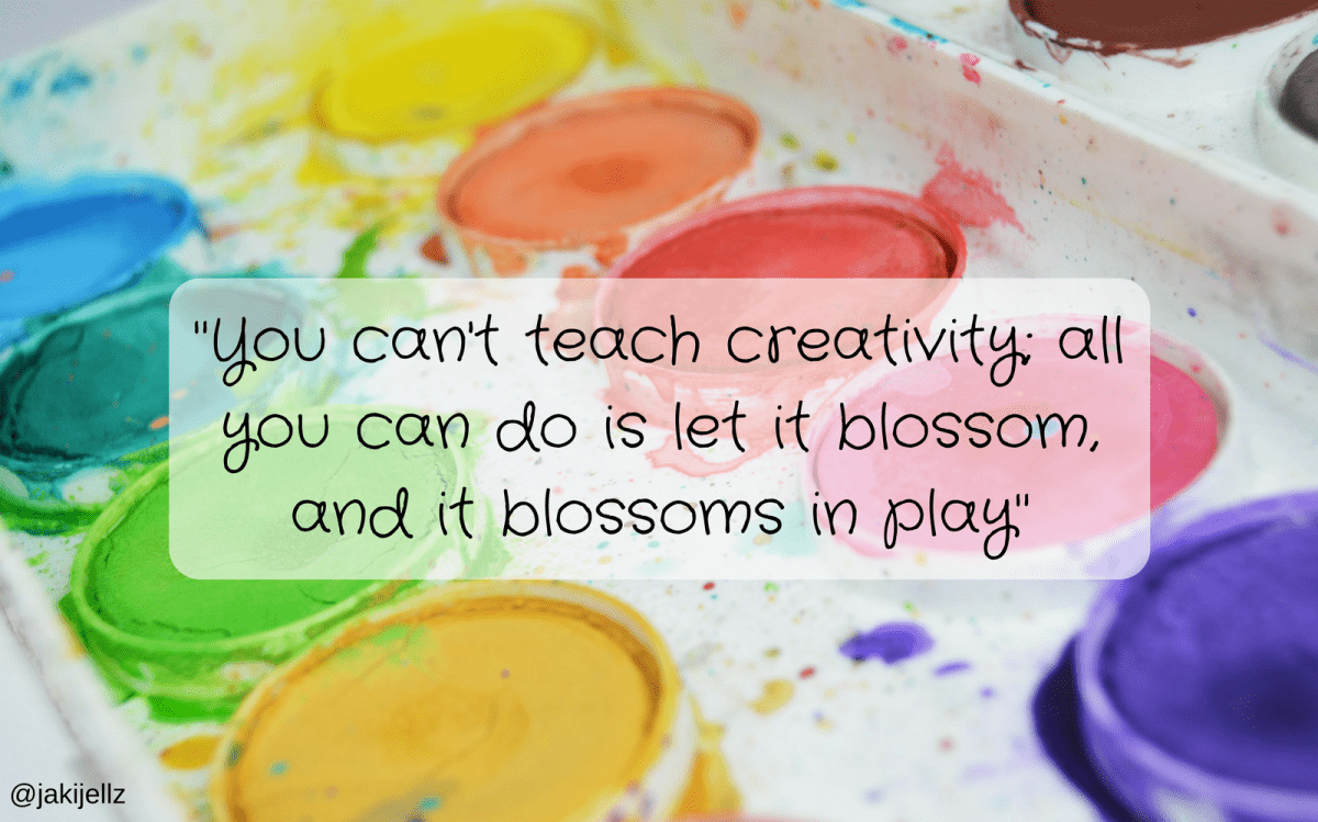 You Can't Teach Creativity – Wednesday Wisdom 20 (feat Arty Apple)