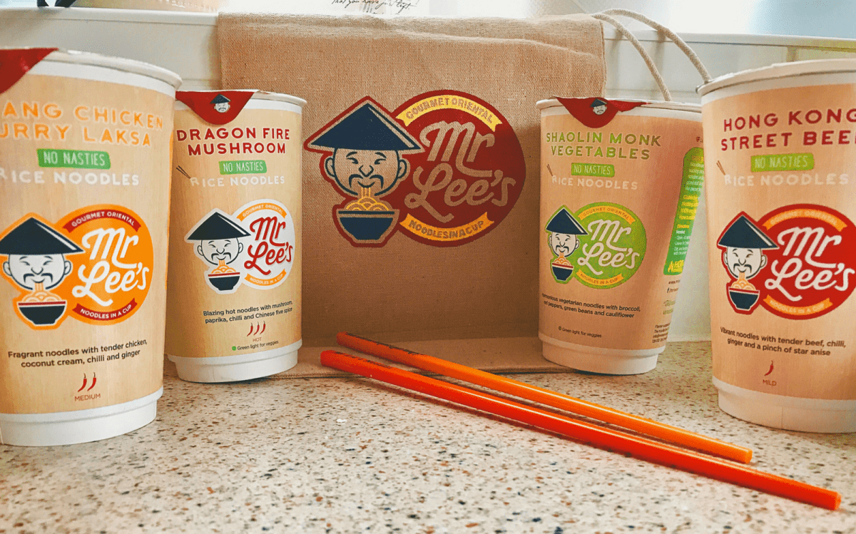 Gourmet Oriental Noodles in a Cup – Mr Lee's Noodles Giveaway!