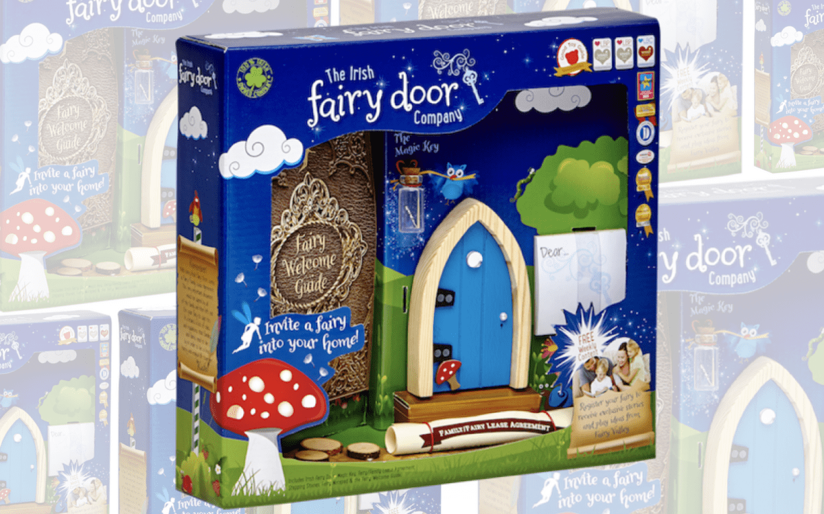 Inviting magic into our home with the irish fairy door for Door companies