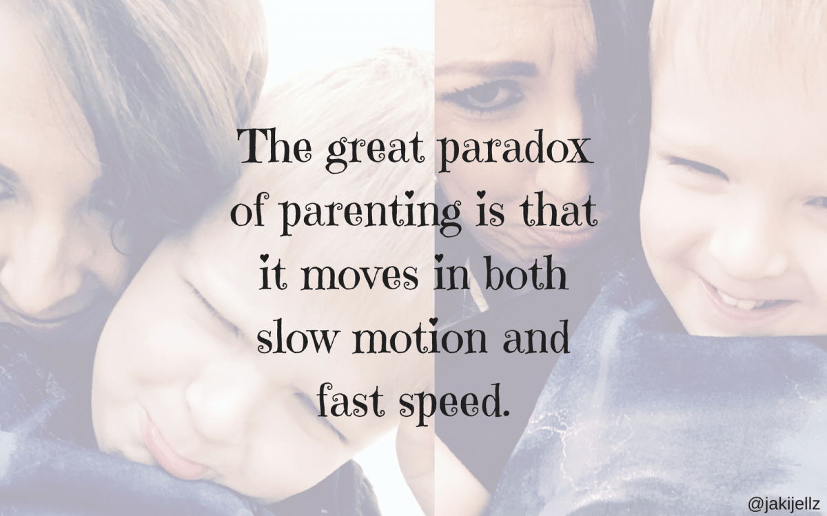 The Paradox Of Parenting – Wednesday Wisdom 23