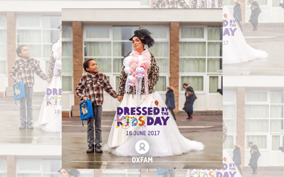 Oxfam's Dressed By The Kids Day 2017