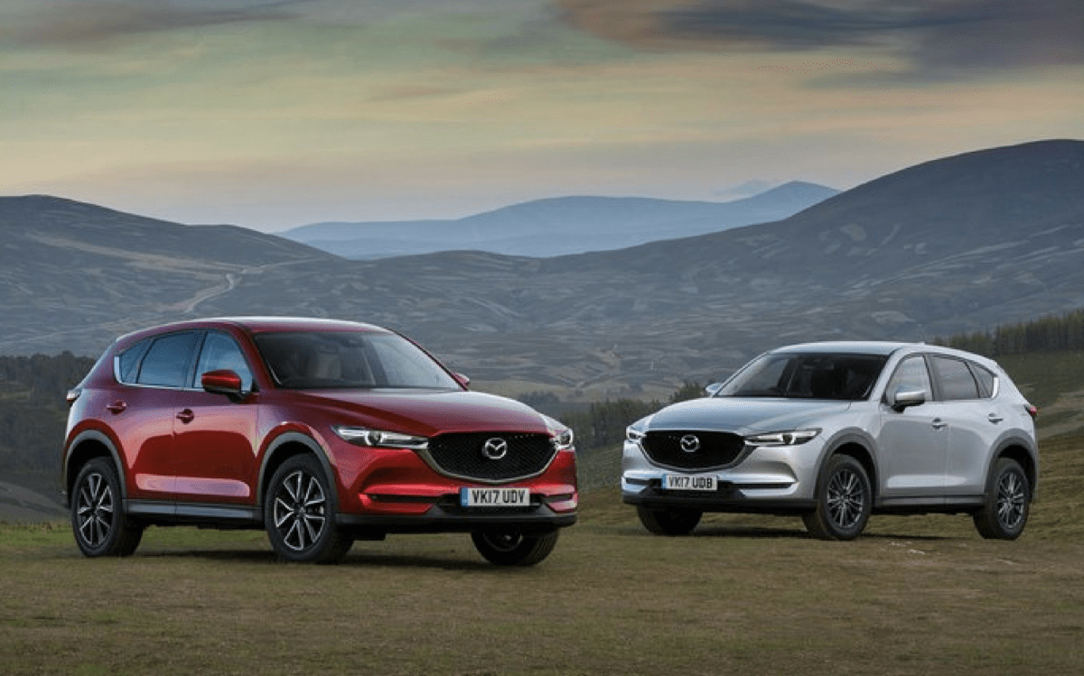 The All-new Mazda CX-5